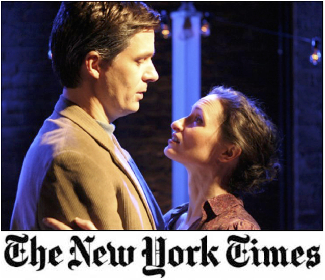 Kathleen Wallace and Jason Macdonald in the world premiere of CORONADO