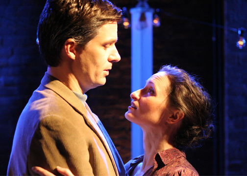 Kathleen Wallace and Jason MacDonald in Dennis Lehane's, Coronado