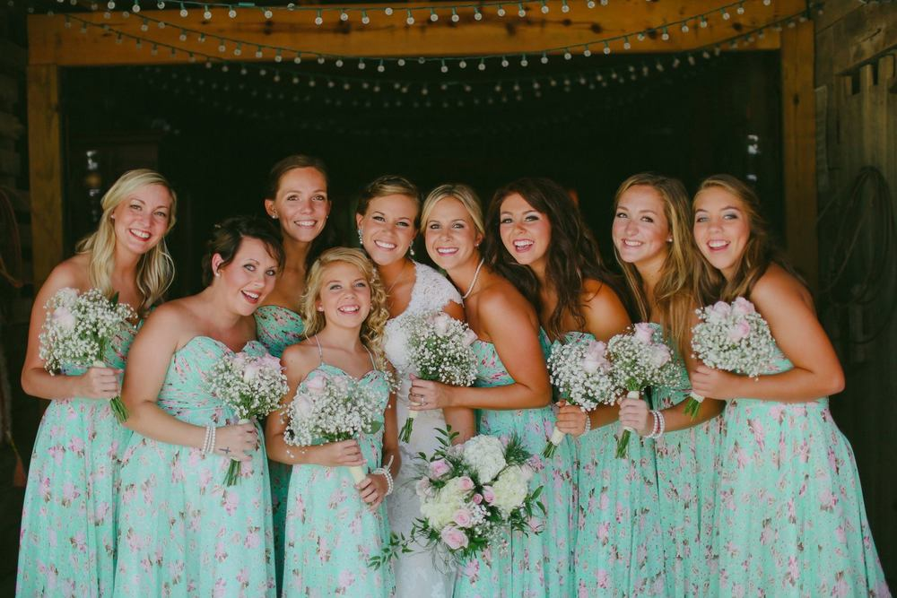 Bridesmaid Dresses: Allure Bridals  Photography: Mattography