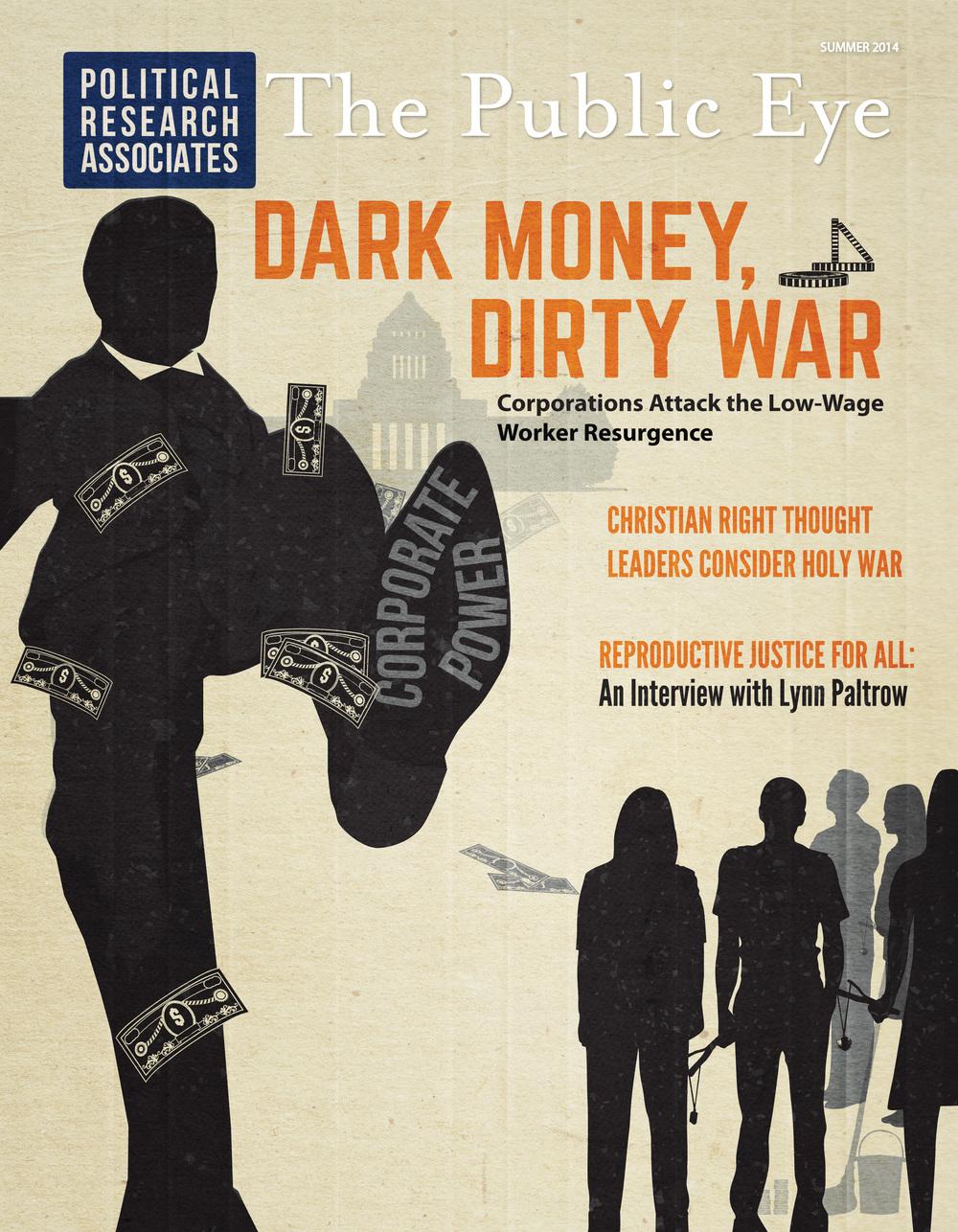 Client: Political Research Associates  Type: Magazine Cover