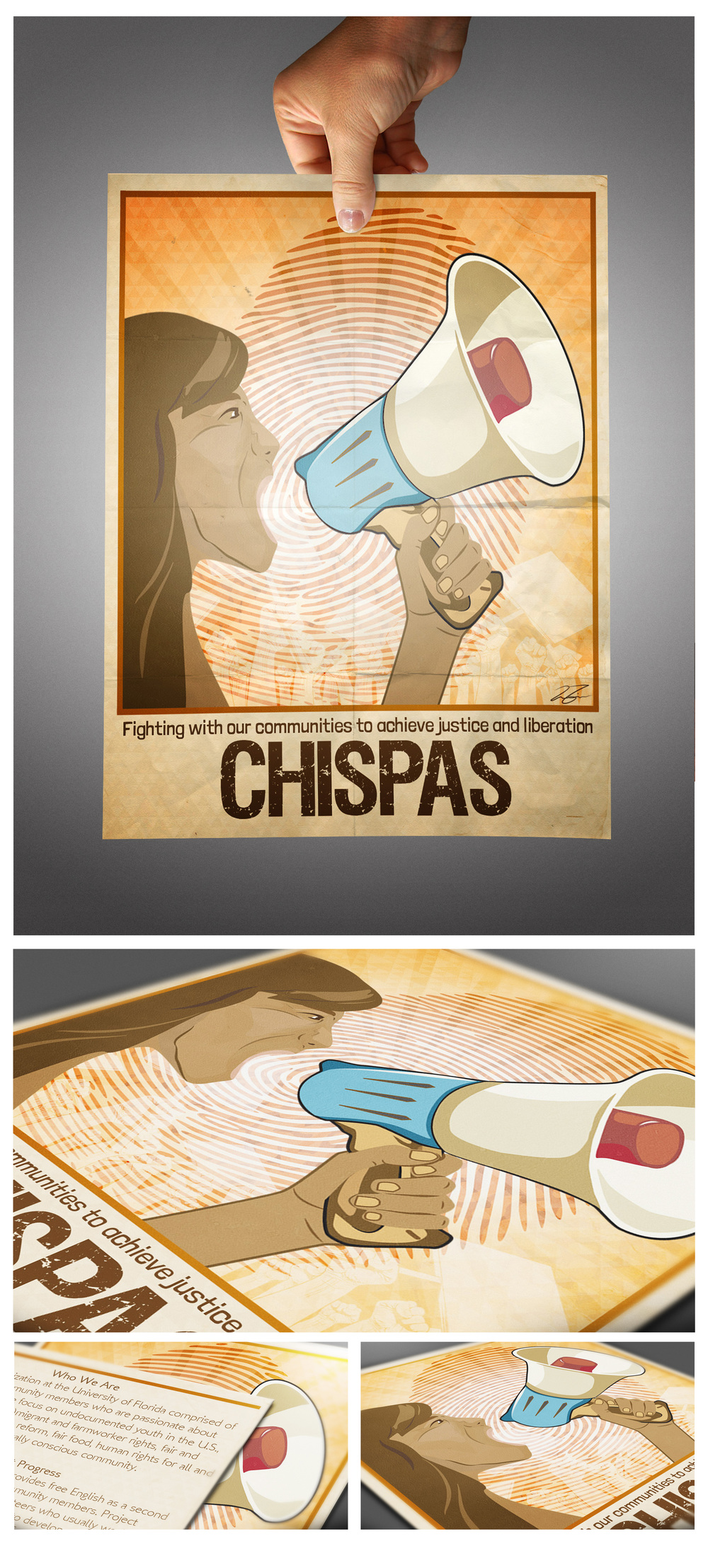 Client: CHISPAS at the University of Florida  Type: Flier