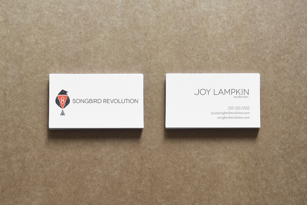 Client: Songbird Revolution  Type: Business Card