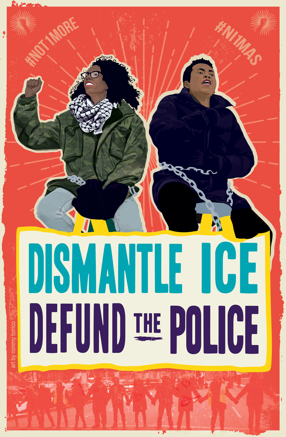 Dismantle Ice, Defund the Police