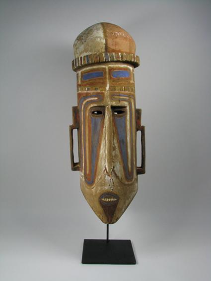 A Witu Island Ceremonial Mask, West New Britain, Bismarck Archipelago, 71x25cm $2,000
