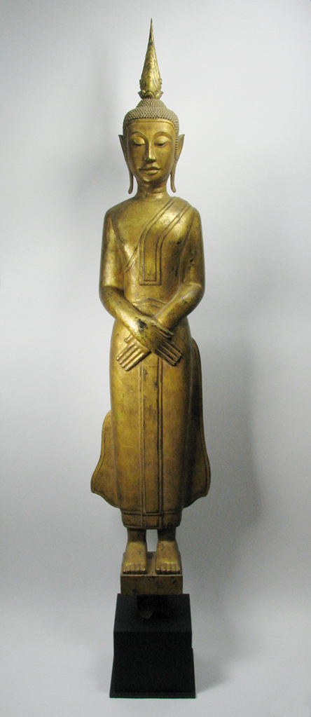 A Laos Temple Buddha, c.19th Century, 184cm $8,000
