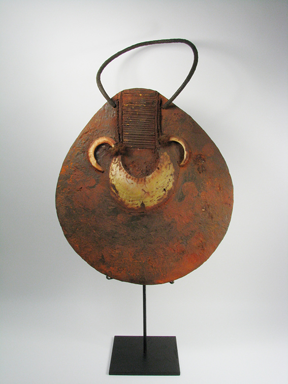 A Western Highland Wealth Ornament (moka kina), PNG, 56x50cm $1,200