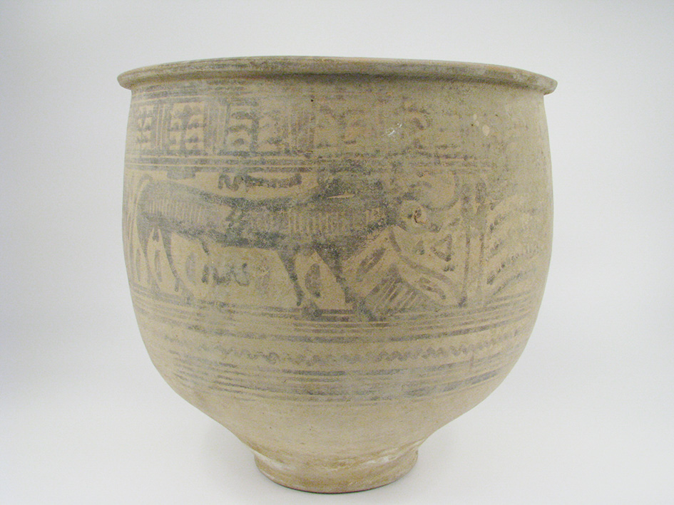 An Indus Valley Ceramic Vessel, Nindowari period, c.2300-2000BC, 30cm $5,000