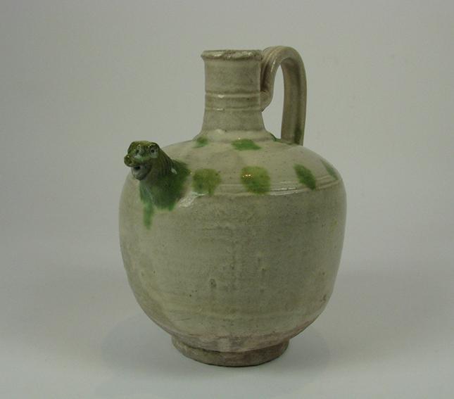 A Liao Dynasty Ceramic Vessel, c.907-1125 AD, 20x12cm $600