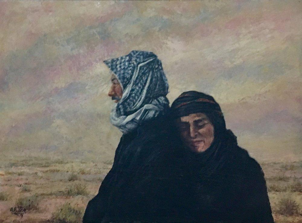 Lot 123: Ahmad Baitem - الفنان أحمد بيتم (Palestine) 1927 - 2013