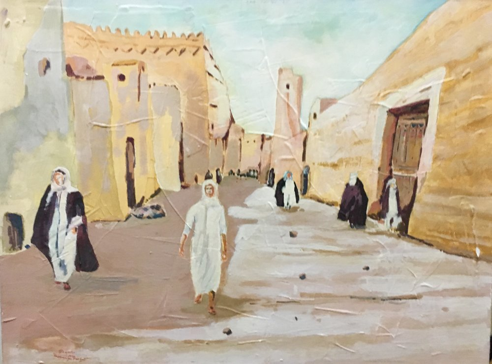 Lot 147: Moawia Farzat - الفنان معاوية (Syria) 1947 - 2016