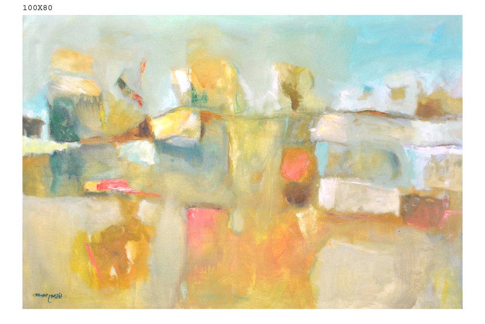 Lot 160: Loai Salahedeen - الفنان لؤي صلاح الدين (Syria) 1974 -