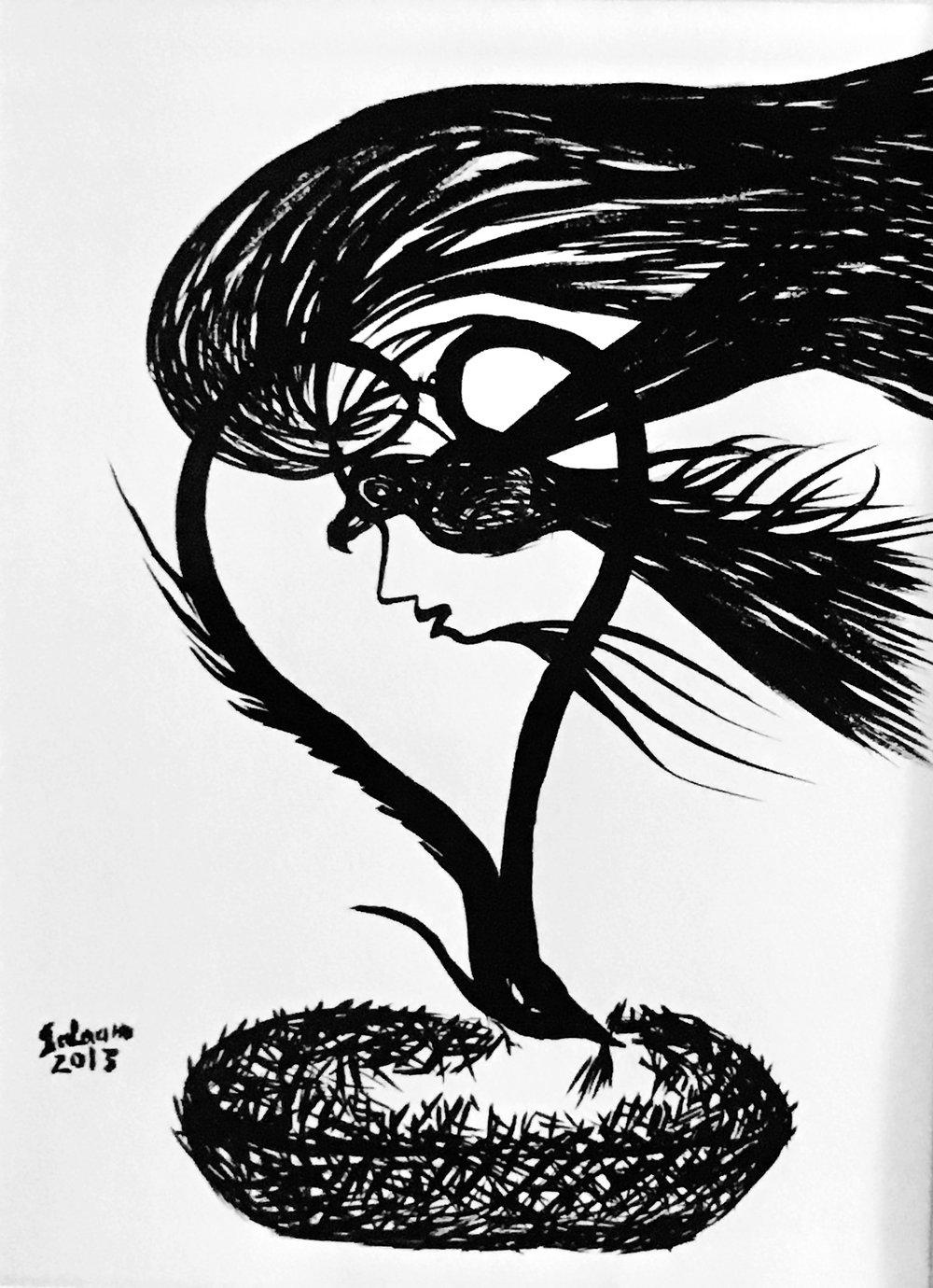 Lot 131: Salaam Adnan Ingilah - الفنان سلام عدنان انجيله (Syria) 1966 -