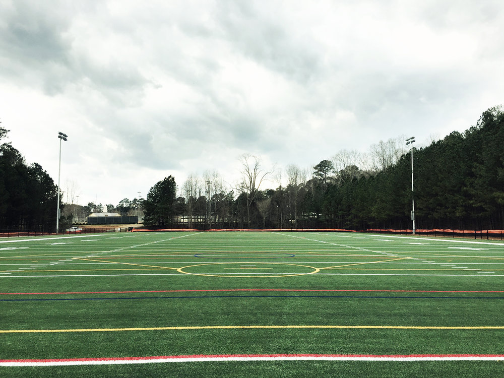 Synthetic Turf Multi-Use Field at Hobgood Park
