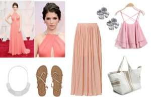 Raquel Greer Gordian provides an alternative, everyday outfit for Anna Kendrick's pink look at the Oscars.