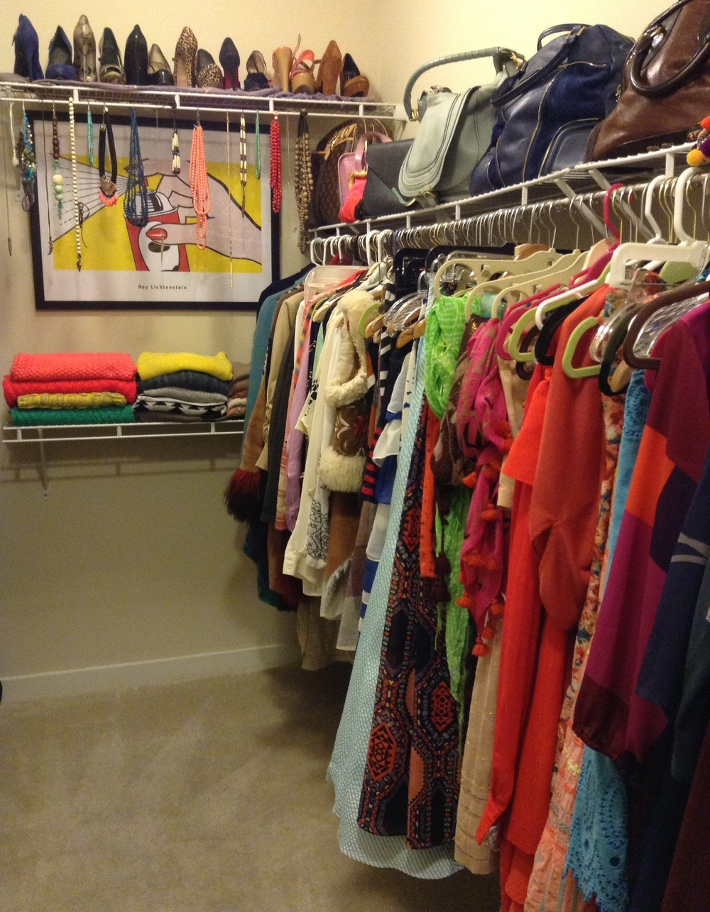 Raquel Greer Gordian offers a look into her own wardrobe organization.