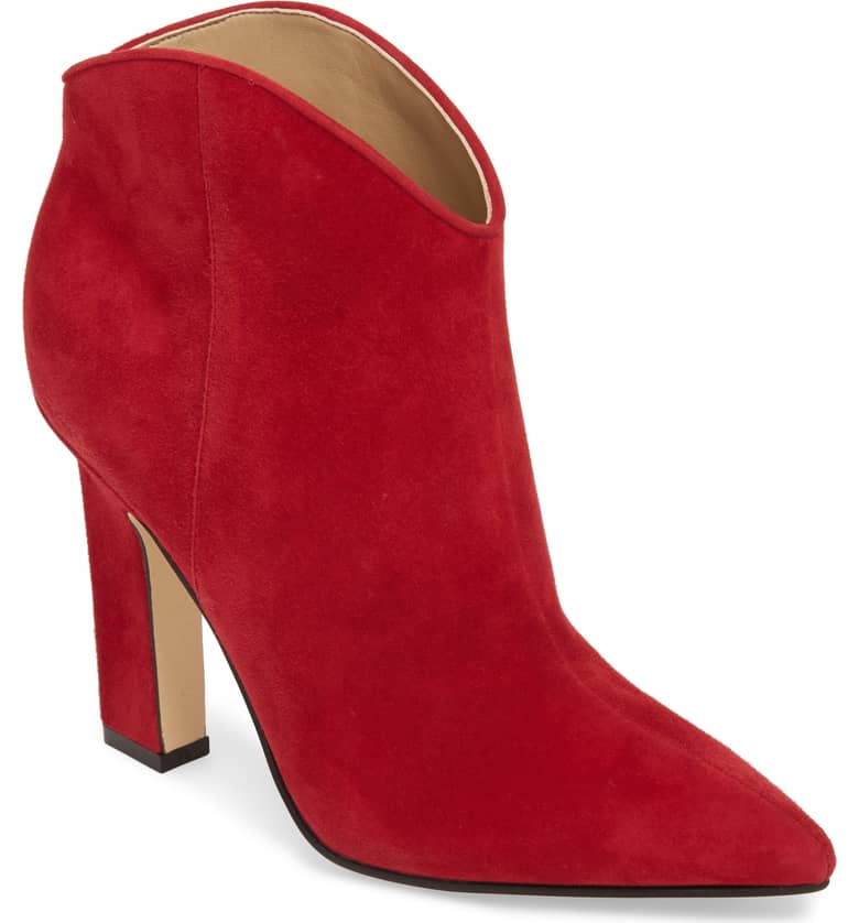 The heeled red boot is the perfect addition to any closet for fall 2018.