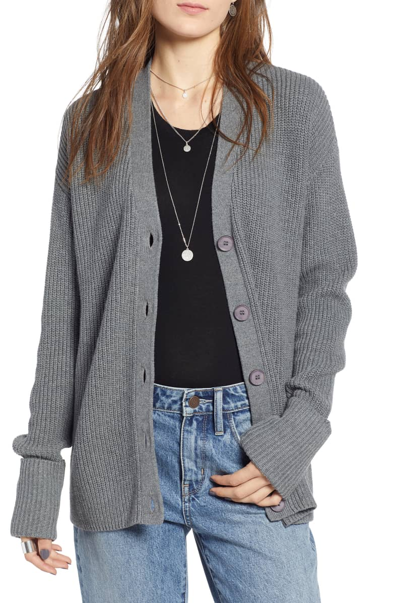 The collegiate classic cardigan is the perfect addition to any wardrobe for fall 2018.