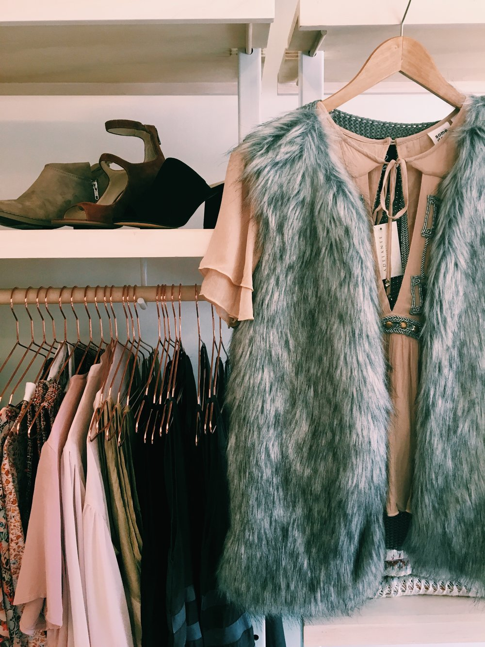 Bring some style to your 2019 wardrobe with a trip to Adelante Boutique at Le Garage Sale.