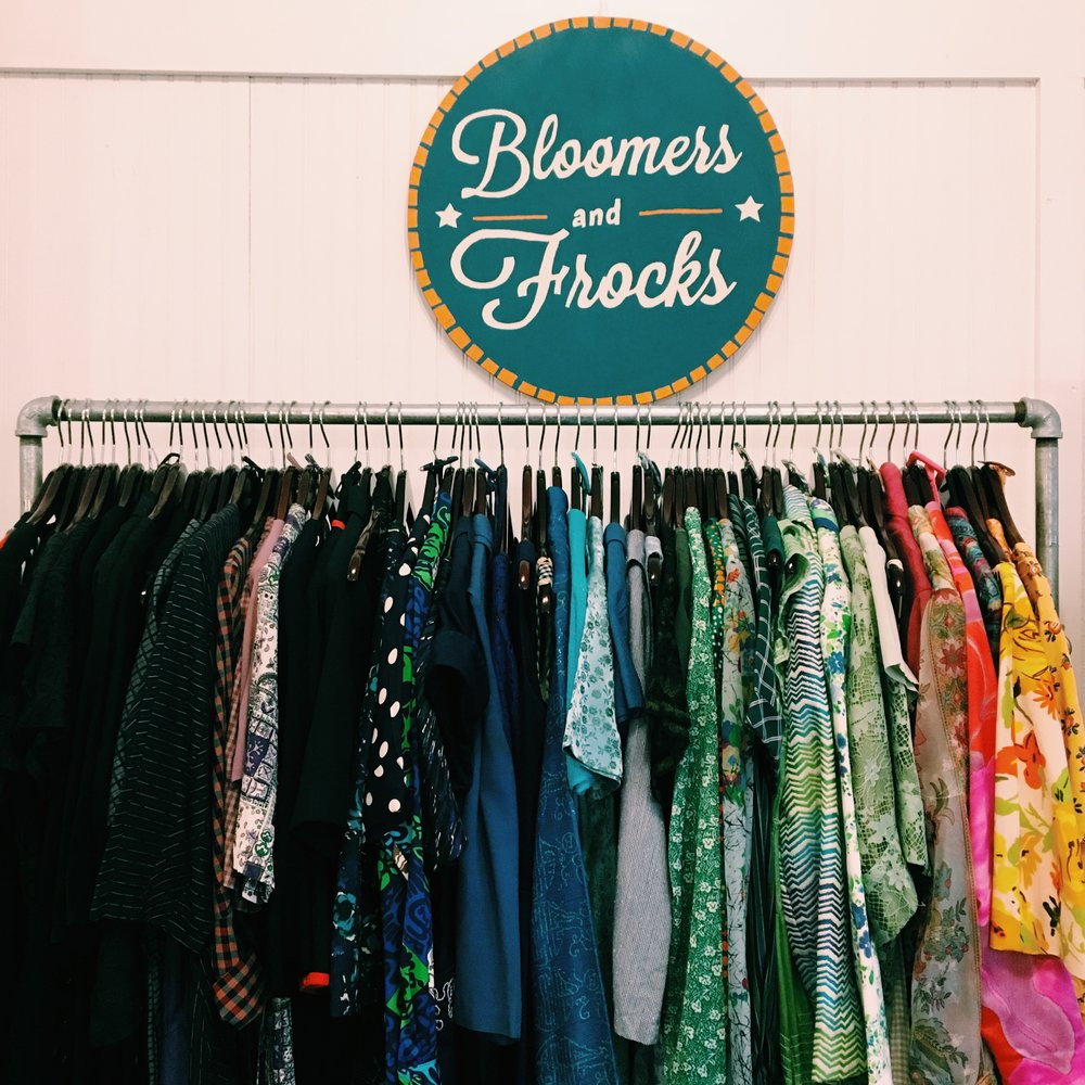 Looking to add vintage to your wardrobe? Bloomers & Frocks is made up of a carefully-curated collection of some of the most beautiful vintage pieces I've ever shopped. Stop by Bloomers & Frocks at Le Garage Sale in Austin, Texas to find your favorite retro gem.