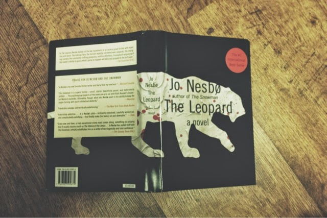 Ever since seeing  Peter Mendelsund  speak at a design conference last year, I've fallen in love with his work. Not only are his designs great, but ever book he designs for Knopf and Vintage are just really great books. I've been searching for his versions of Jo Nesbø's books everywhere, and finally found The Leopard at a BMV in Toronto.