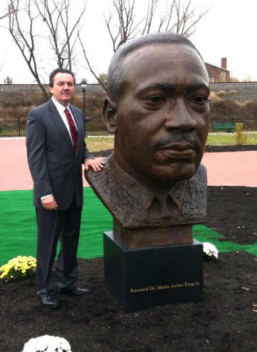 Reverend Dr. Martin Luther King, Jr., portrait statue