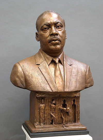 Reverend Dr. Martin Luther King, Jr. and Freedom, public sculpture