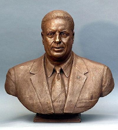 Constantine 'Taki' Papadakis, portrait bust