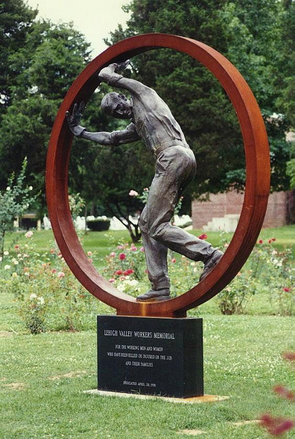 Workers Memorial, public sculpture