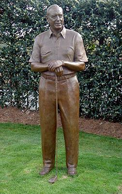 Robert Dedman, Sr., Pinehurst, sports sculpture