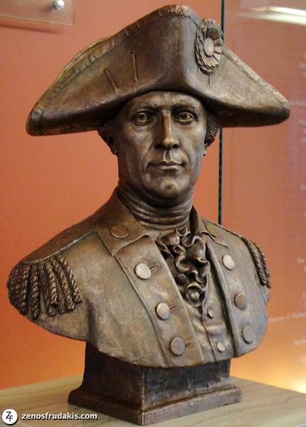 John Sevier, portrait bust