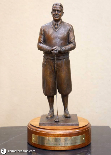 Bob Jones Award, portrait statue