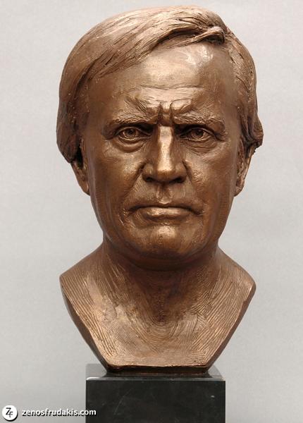 Jack Nicklaus, portrait bust
