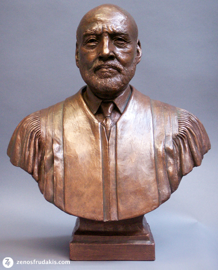 Chief Justice Birch, portrait bust