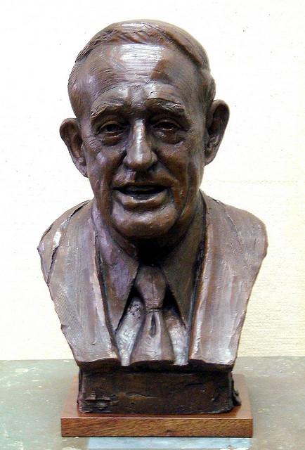 Congressman Roe, portrait bust