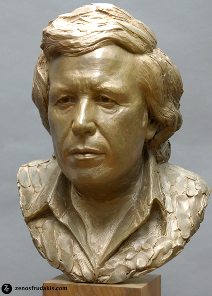 Don McLean, portrait sculpture