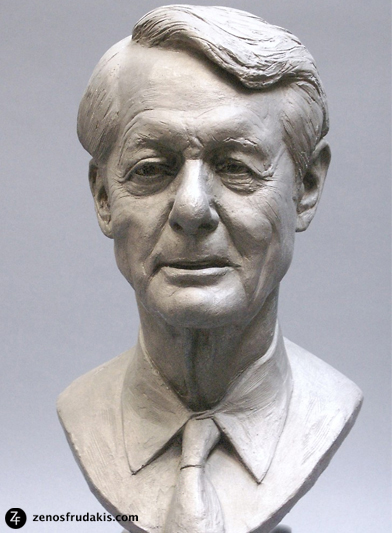Edmund N. Bacon, portrait bculpture