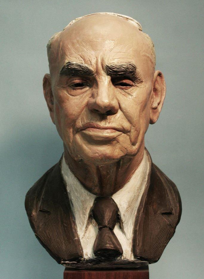 Vasilis Frudakis, portrait bust