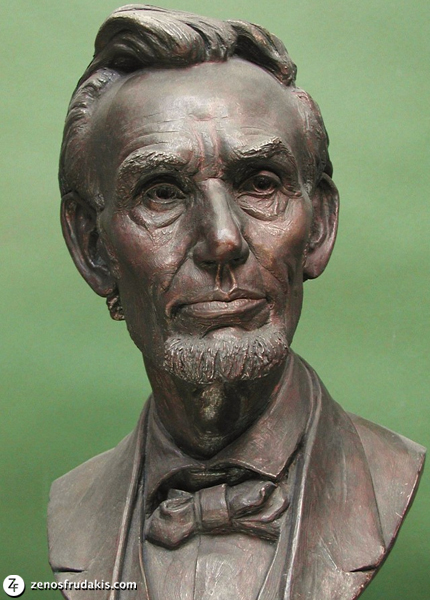 Old Abe, portrait bust