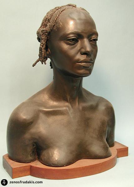 Sheila, portrait bust
