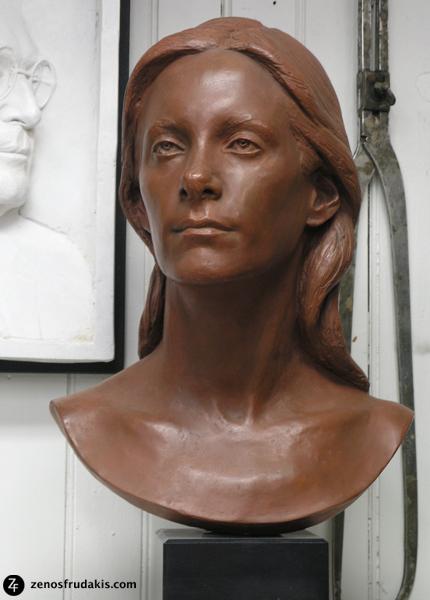 Rosalie Frudakis, portrait bust