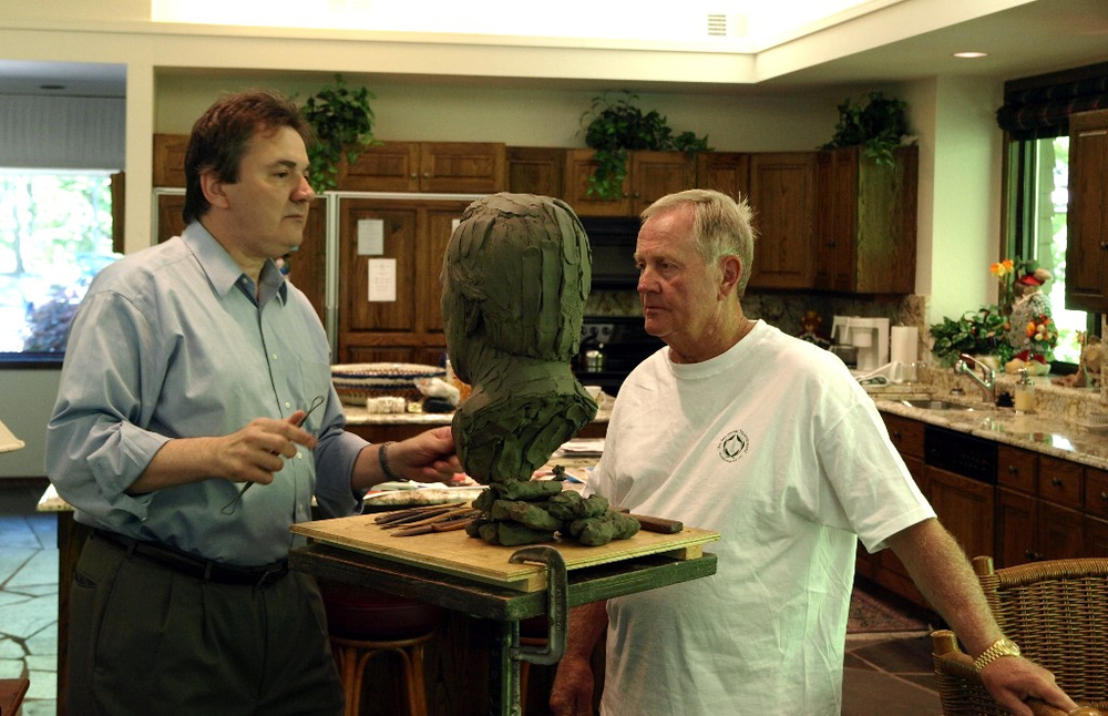 Jack Nicklaus, sports sculpture