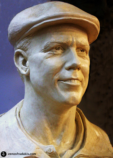 Payne Stewart, Portrait, sports sculpture