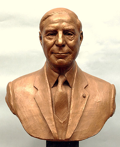 Sir Paul Girolami, portrait bust