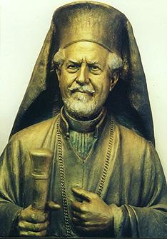 Archbishop Cavvadas, portrait bust