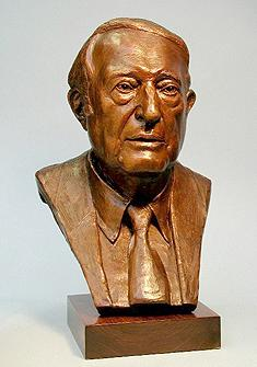 Harry A Kalish, portrait bust