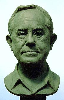 Mr Mederios, portrait bust
