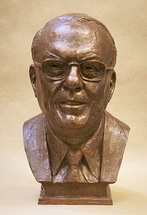 Mr Cognetta, portrait bust