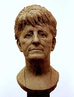 Mrs Mederios, portrait bust