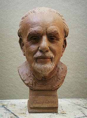 Philip Cohen, portrait bust