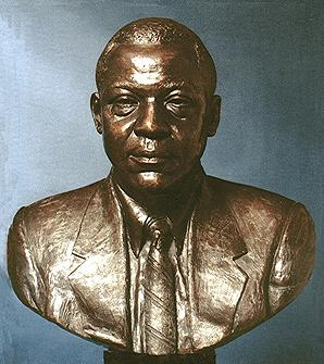 Wilson Goode, portrait bust